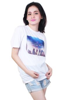 Chasing Dream Quotable Printed White Shirt