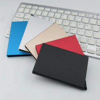 CHIC Slim Credit Card RFID Protector Purse Metal Case Wallet SecureMen & Women Black - intl - 5