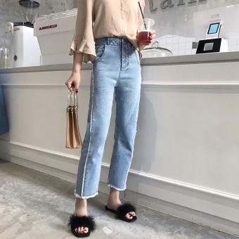 Chic versatile autumn new style jeans