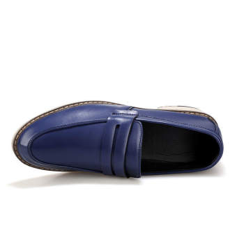 Classic Fashion Men Loafers (Blue)
