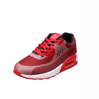 Classic Fashion Men Sneakers - Red