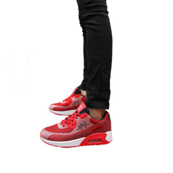 Classic Fashion Men Sneakers - Red - picture 2