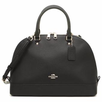 Coach Sierra Satchel In Crossgrain Leather - F37218 Black