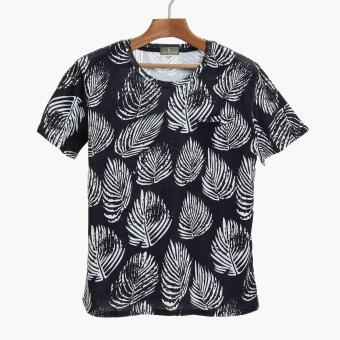 Coco Republic Mens Tropical Tee (Navy Blue) Price Philippines