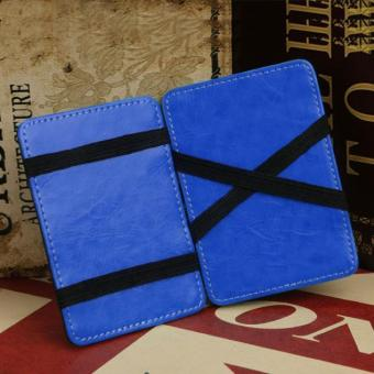 CocolMax Mini Neutral Magic Bifold Leather Wallet Card HolderWallet Purse Money Clip Free Shipping - intl - 3