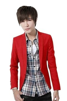 Cocotina One Button Suit (Red)