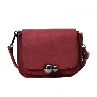 Cool female New style casual messenger bag gourd bag (Red) Price Philippines