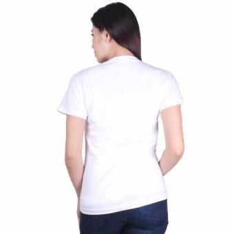 Cotton Republic V-Neck Shirt (White) - 2