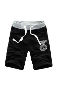 Cotton Shorts Pants (Black)