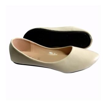 Crizzie Flat Shoes (off white) - 2