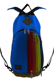 Cross Body Backpack Bag (Blue) - picture 3