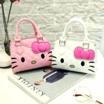 Cute Girl Hello Kitty Handbag Bag/Sling Bag (White) - 4