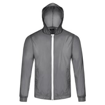 Cyber Bicycle Cycling Jacket Waterproof Windproof Wind Coat RainCoat ( Grey ) - 2