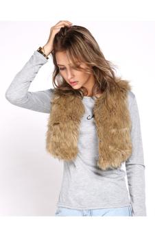 Cyber Women Jacket Faux Fur? Shawl Luxury short