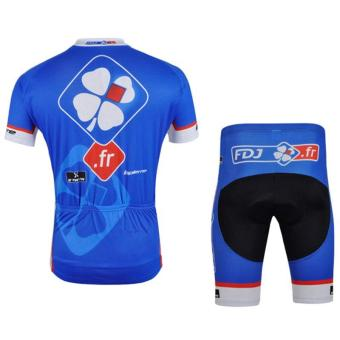 Cycling Suits Short Jersey Short Sleeves & Shorts-Time TunnelMotorcycle Bike Jerseys Mens Compression Tights Suit - intl - 2