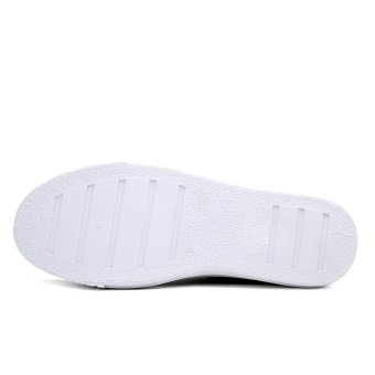 CYOU 2017 New Mens Casual Shoes Man Flats Breathable Mens Fashion Classic Outdoor Shoes Mens Canvas Shoes for Men (White) - intl - 4