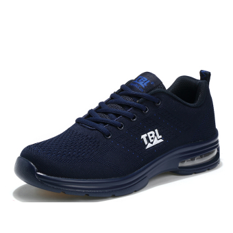Presyo Damping warm mesh shoes air cushion sports shoes (9965 dark blue color) in Philippines