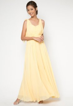 Damsel Infinity Long Gown Yellow