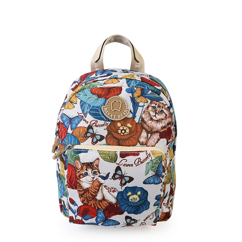 Danny bear dbwb7118009 new backpack (Multi-color small section)