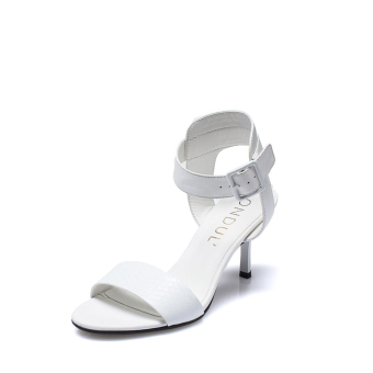 Daphne European and American style Round bandage cloth women's sandals