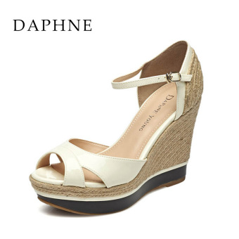 Daphne female New style woven sandals (Off-white 190)