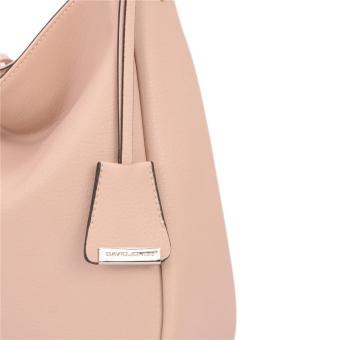 DAVIDJONES Women Synthetic Leather Shoulder Bag Hobo Bag - intl - 3