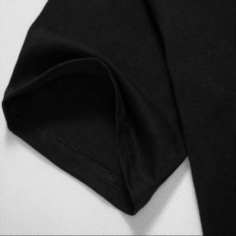DC Comics Men's Suicide Squad Harley Quinn Bat Design Fashion MensO-Neck Cotton T-shirt(Black) - intl - 3