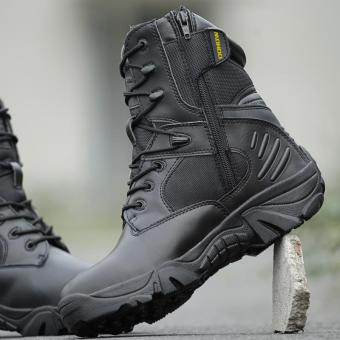 Delta Brand Men's Military Tactical Boots Desert Combat Outdoor Army Travel Boots - back - intl