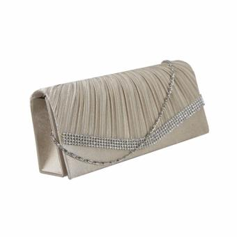 DNJ 139-5 Party Clutch bag (Champagne) - 3