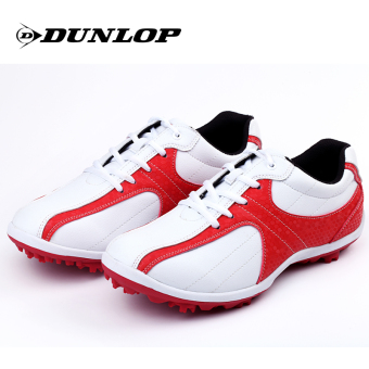 Dunlop men's microfiber shoes GOLF shoes (Vitality Hong)