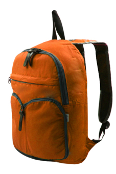 Durable Foldable Casual Backpack (Orange)
