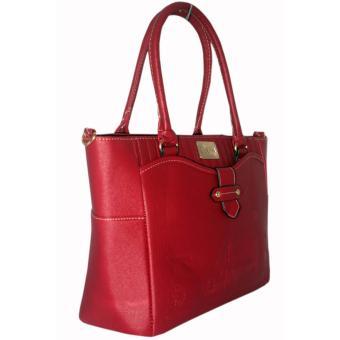 Elena 12102 Premium Bag Set (Red) - 3