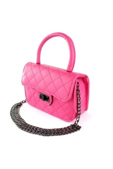 Elena 2858 Crossbody Bag (Pink)