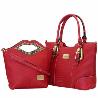 Elena X-11031 Premium Bag Set (Red) Price Philippines