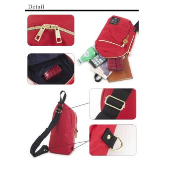 ( Elite ) Anello Sling Bag / Backpack / Unisex Sling Bag - Red - 3