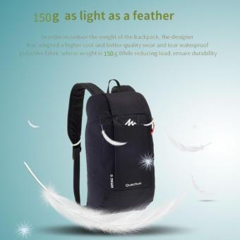 EsoGoal Sports Kids Adults Outdoor Backpack Mini Small Bookbags 10L -Black - intl - 2