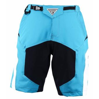 Extreme Assault Blaster 3 Multi Purpose Biking Short(L.Blue/Black/White) - 3