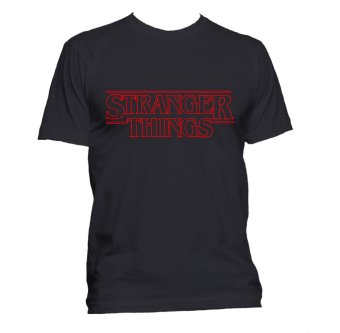 Fan Arena TV Series Stranger Things Inspired T-shirt (Black)