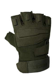 Fancyqube Army Full Finger Airsoft Combat Tactical Gloves (Green)