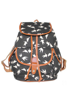 Fancyqube Canvas Printing Backpack Color 01