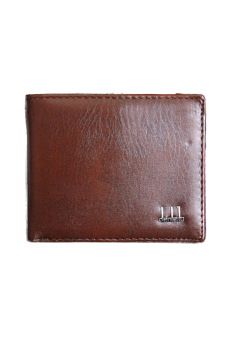 Fancyqube Leather Business Men's Wallet (Brown)