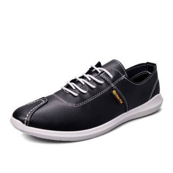 Fashion Autumn New Lacing Loafers (Black)