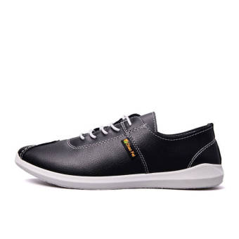 Fashion Autumn New Lacing Loafers (Black) - picture 2