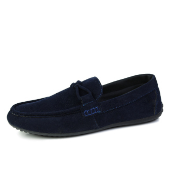 Fashion Autumn New Simple Loafers - Blue