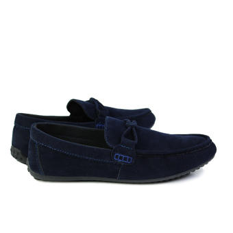 Fashion Autumn New Simple Loafers - Blue - picture 3