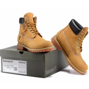 Fashion Boots For Timberland High Women's 10061 (Light Yellow) -intl - 5