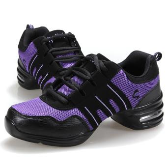 Fashion Comfy Modern Jazz Hip Hop Dance Shoes Women Breathable Sneakers 7 Colors - 3