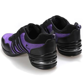 Fashion Comfy Modern Jazz Hip Hop Dance Shoes Women Breathable Sneakers 7 Colors - 5
