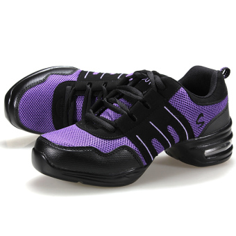 Fashion Comfy Modern Jazz Hip Hop Dance Shoes Women Breathable Sneakers 7 Colors - 2