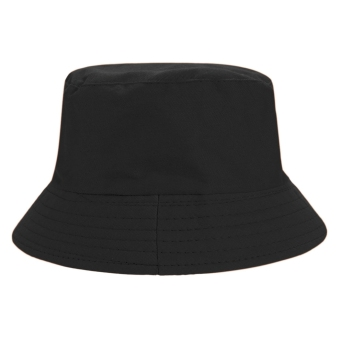 Fashion hot Unisex Cotton Folding Fishing Cap Beanie Sun Bucket HatBlack